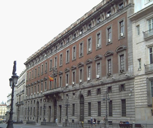 Madrid, Real Casa de la Aduana (sede del Ministero)