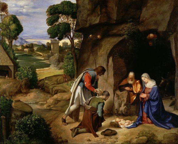 Giorgione_L'adorazione dei pastori