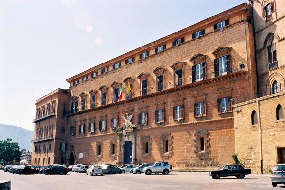 Palermo, Palazzo dei Normanni (ingresso principale)